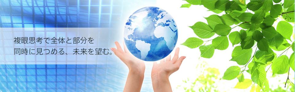 株式会社フレックスシステム|複眼思考で全体と部分を同時に見つめる、未来を望む。